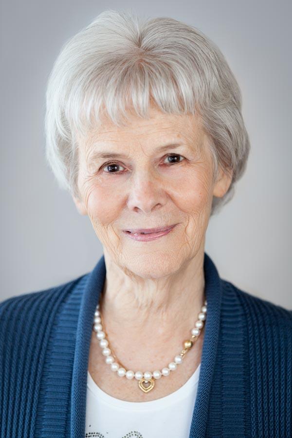 Corporate headshot of businesswoman