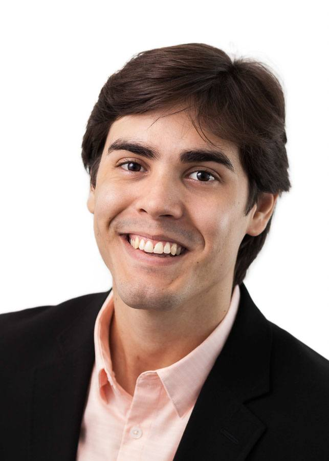 Headshot of young business leader