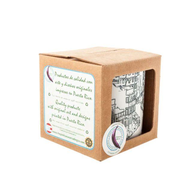 Packshot mug in box